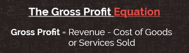 Explore how the gross profit equation relates to your dog daycare business.