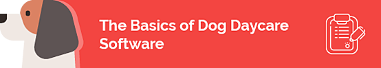 This section discusses the basics of dog daycare software.