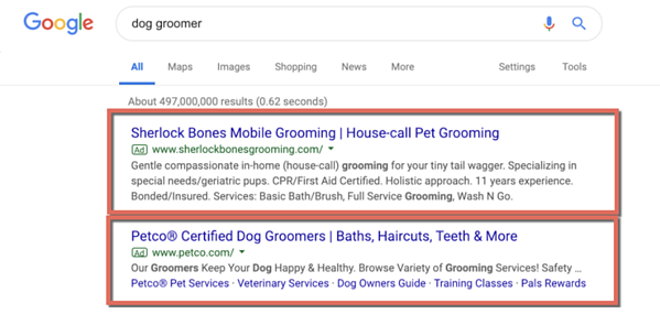 Google ads are a powerful tool in dog daycare marketing.