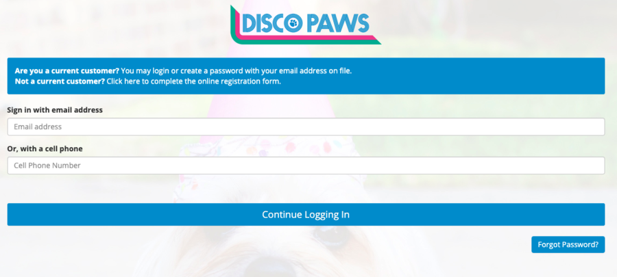 An online customer portal is an essential dog daycare software feature.