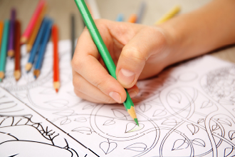 Animal coloring books allow your customers to get creative while you sell pet business merchandise.