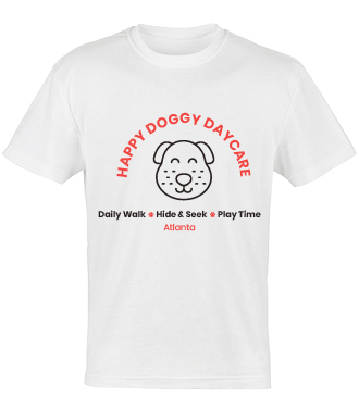 T-shirts are a classic pet business merchandise idea to diversify your revenue.