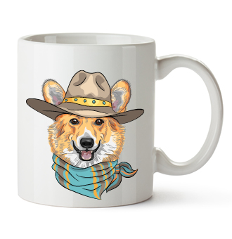 Branded, customized mugs make a cozy addition to your pet business merchandise.