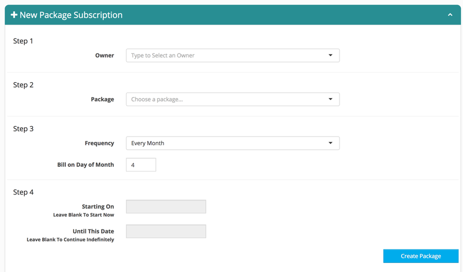 Explore Gingr's new subscription billing features.